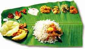 kerala south indian thali
